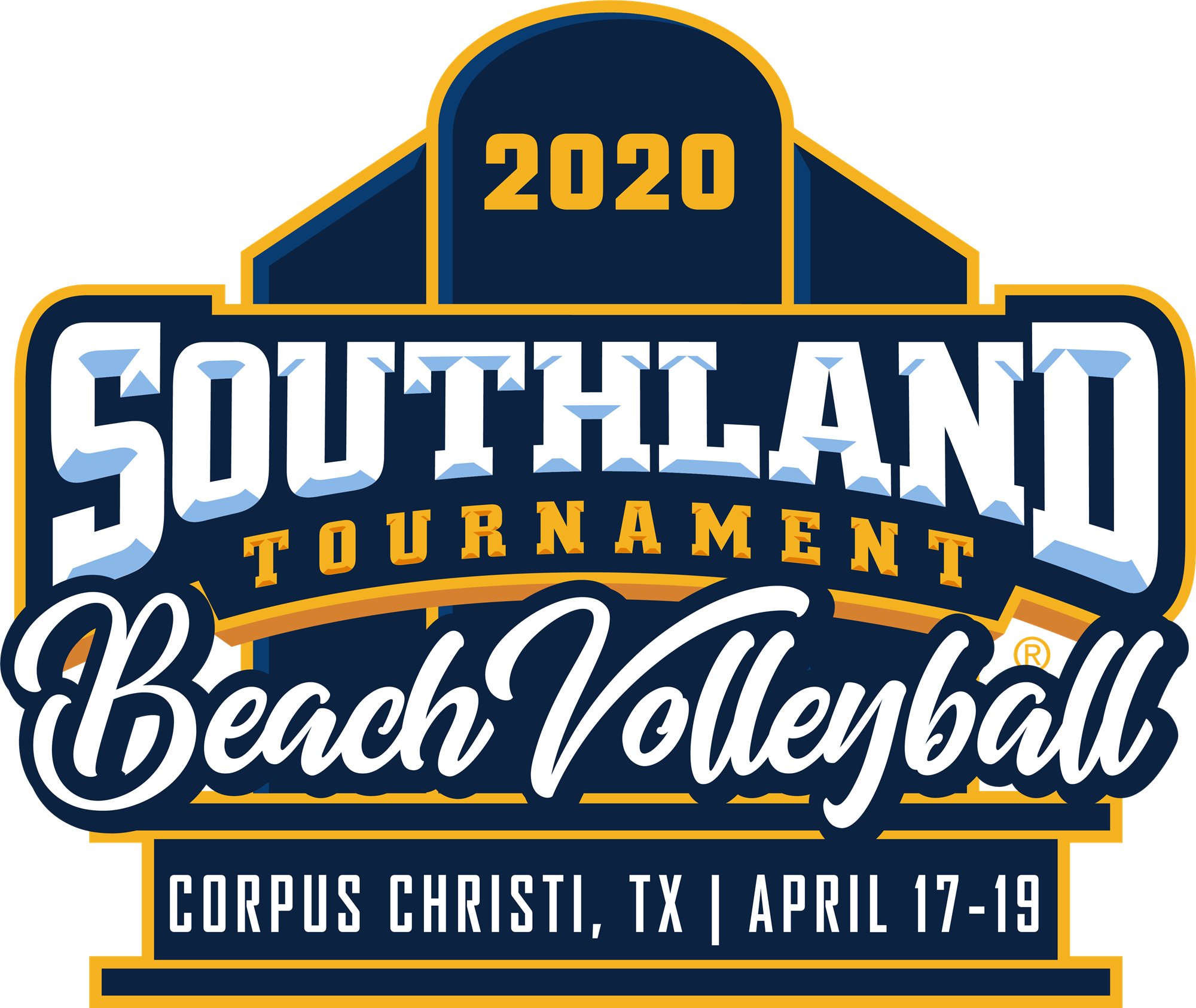 2020 Southland Beach Volleyball Tournament Southland Conference